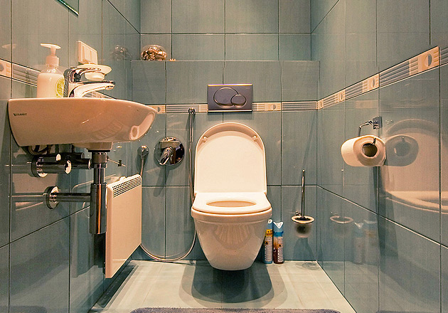 Ремонт в туалете своими